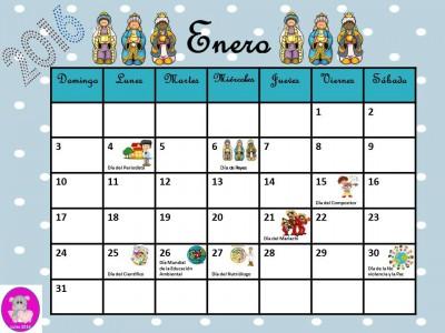 Calendario 2016 con efemérides incluidas. Listo para descargar e imprimir (1)