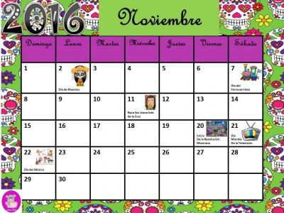 Calendario 2016 con efemérides incluidas. Listo para descargar e imprimir (11)