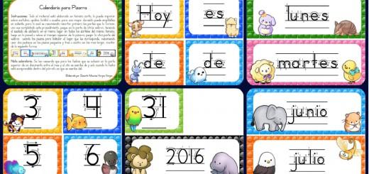 Calendario Aula 2016 Portada
