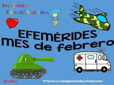 Efemérides Mes de Febrero Lunares (1)