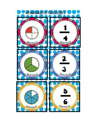Memorama de Fracciones (1)