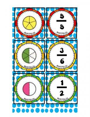 Memorama de Fracciones (4)