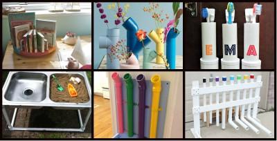 PVC ideas casa  y clase Portada