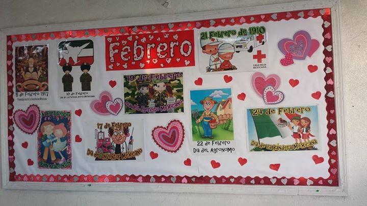 Periodico mural febrero (8) Imagenes