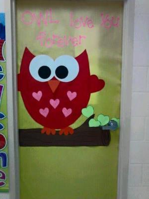 Colecci n de puertas para decorar nuestras clases el 14 for Decoracion de puertas de san valentin