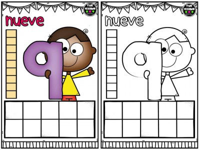 Repasamos los números y nos divertimos coloreando (10)