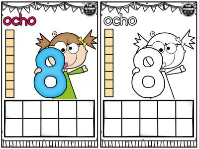 Repasamos los números y nos divertimos coloreando (9)