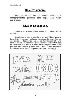 Super Cuaderno Día de la Paz y la No Violencia grafo y colorear (2)