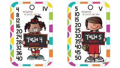 Tablas de multiplicar formato llavero (2)