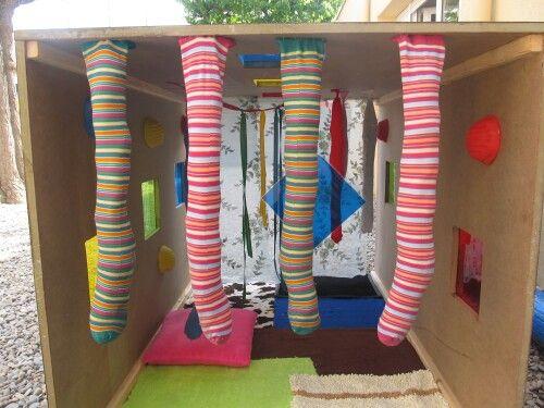 Tunel sensorial imagenes educativas for Actividades para jardin maternal sala de 2