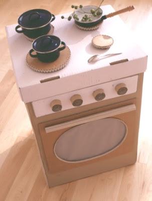 Cocinas carton 10 imagenes educativas for Cocina de carton