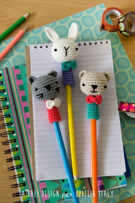 Adornos para lápices manualidades  Diy  (11)