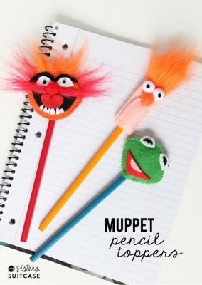 Adornos para lápices manualidades  Diy  (5)