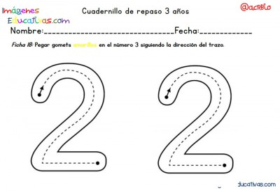 Cuadernillo complementario para 3 años, Educación Preescolar  (18)