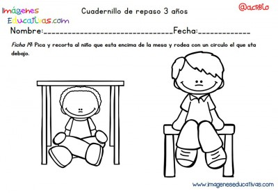 Cuadernillo complementario para 3 años, Educación Preescolar  (19)