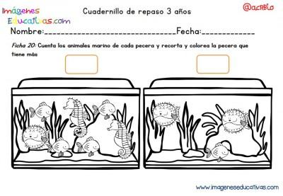 Cuadernillo complementario para 3 años, Educación Preescolar  (20)