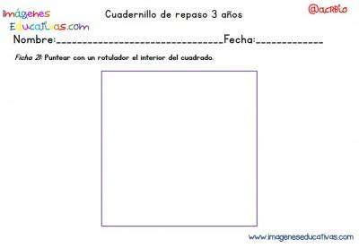 Cuadernillo complementario para 3 años, Educación Preescolar  (21)