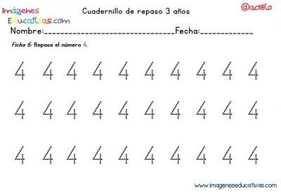 Cuadernillo complementario para 3 años, Educación Preescolar  (6)