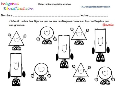 Cuadernillo complementario para 4 años, Educación Preescolar (13)