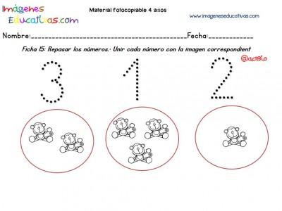 Cuadernillo complementario para 4 años, Educación Preescolar (15)