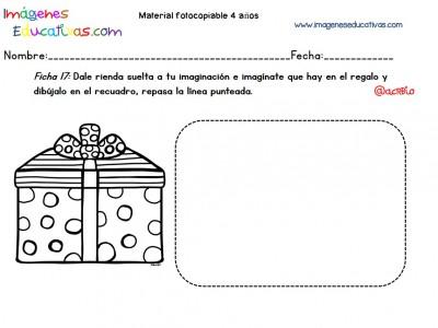 Cuadernillo complementario para 4 años, Educación Preescolar (17)