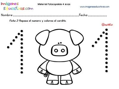 Cuadernillo complementario para 4 años, Educación Preescolar (2)