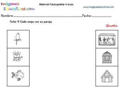 Cuadernillo complementario para 4 años, Educación Preescolar (9)