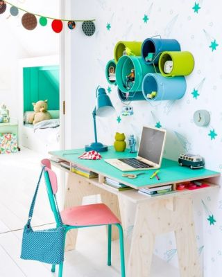Escritorios y zonas de trabajo para niños (11)