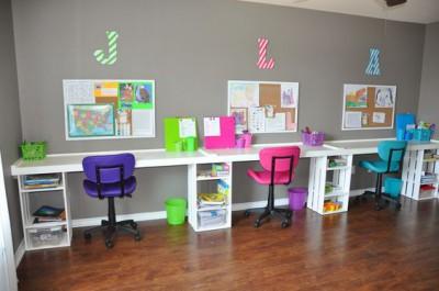 Escritorios y zonas de trabajo para niños (17)
