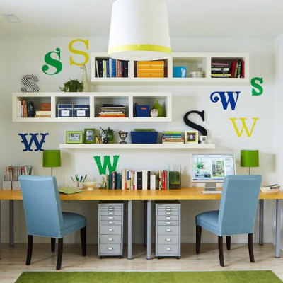 Escritorios y zonas de trabajo para niños (34)