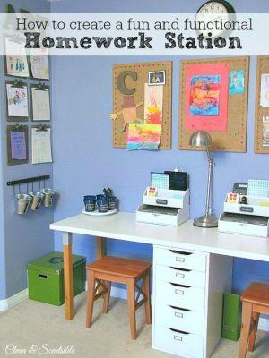 Escritorios y zonas de trabajo para niños (38)