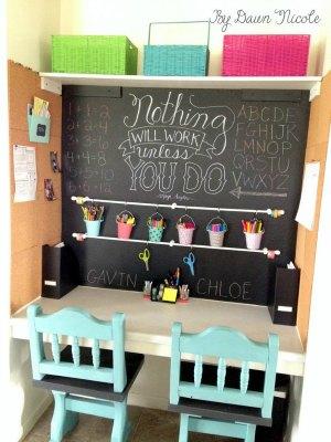 Escritorios y zonas de trabajo para niños (45)