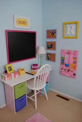Escritorios y zonas de trabajo para niños (8)