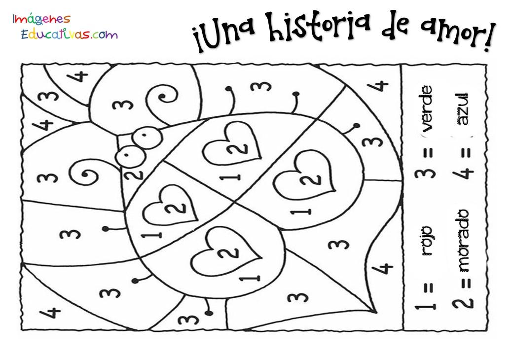Fichas San Valentín 14 febrero (2) - Imagenes Educativas
