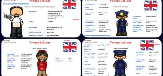 Frases básicas para una conversación en ingles Portada