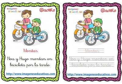Lectoescritura verbos de acción (2)