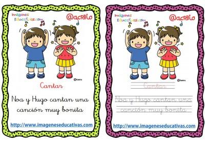 Lectoescritura verbos de acción (4)