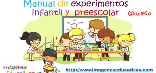 Manual de experimentos infantil y preescolar Portada