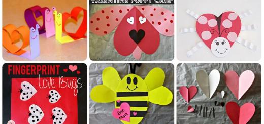 Manualidades sencillas San Valentín Portada