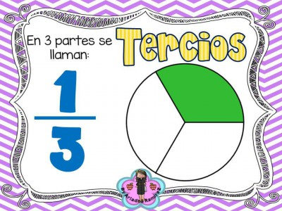 Memorama de Fracciones y sus nombres (9)