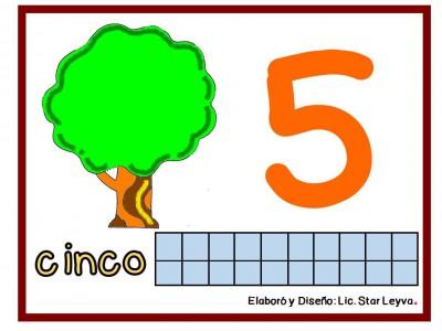 Aprendemos los números modelando plastilina (5)