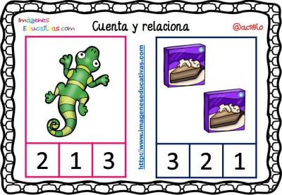 Fichas para aprender a contar (10)