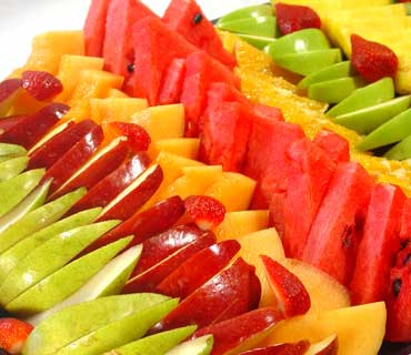 Fuentes y brochetas de frutas (22)