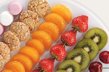 Fuentes y brochetas de frutas (29)