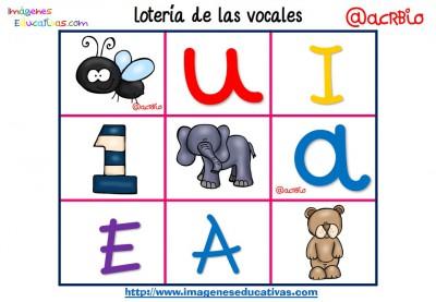 Lotería Bingo de las vocales (4)