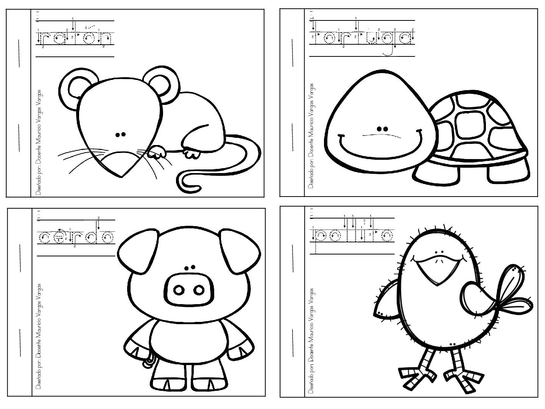 Imagenes Para Colorear De Español: Mi Libro De Colorear De Animales Domesticos (3)