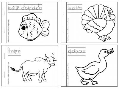 Mi libro de colorear de animales domésticos - Imagenes Educativas