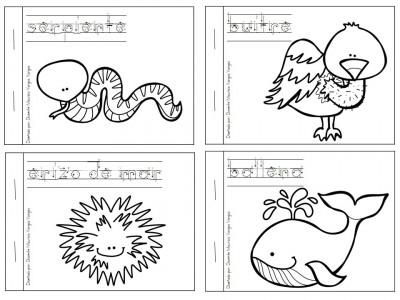 Mi Libro De Colorear De Animales Salvajes Imagenes Educativas