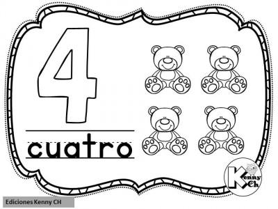 Mini librito mis primeros números (6)