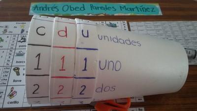 Practicamos los números con vasos de papel (1)